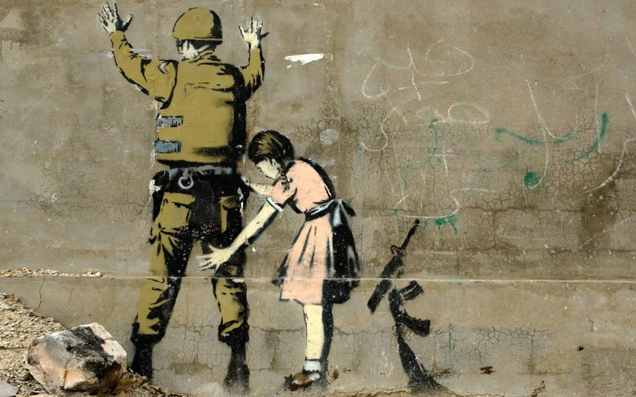 Banksy pat down
