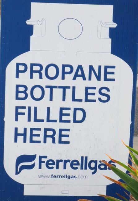 Propane bottles