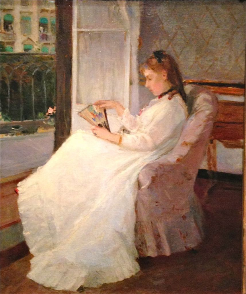 The Artist's Sister at her Window